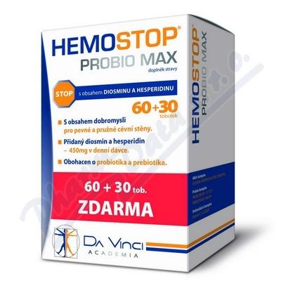 Hemostop Probio MAX Da Vinci Academia tob. 60+30