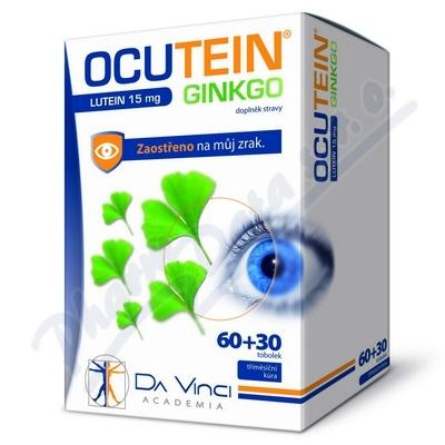 Ocutein Ginkgo 45mg+Lutein 15mg Da Vinci tob.60+30