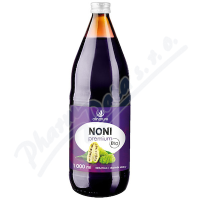 Allnature Noni 100% šťáva BIO 1000ml