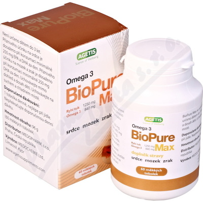 BioPure Max 60 měkkých tobolek
