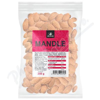 Allnature Mandle jádra natural 250g