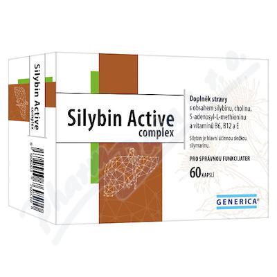 Silybin Active complex cps.60 Generica