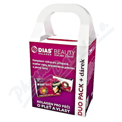 Dias Beauty duopack 120 tablet + dárek