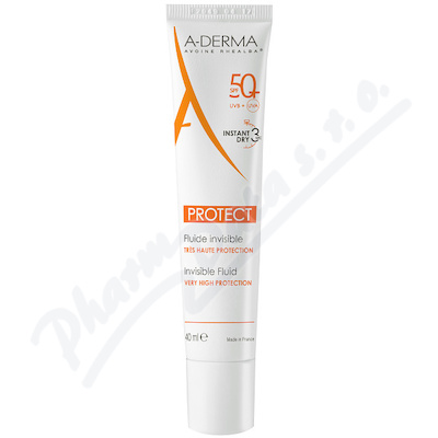 A-DERMA Protect Transparetní fluid SPF50+ 40ml