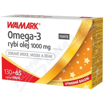 Walmark Omega 3 Forte tob.130+65 Promo2020