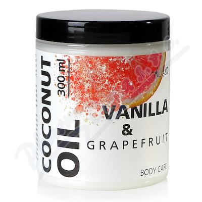 AUKSO Kokosový olej bodycare Grep a vanilka 300ml