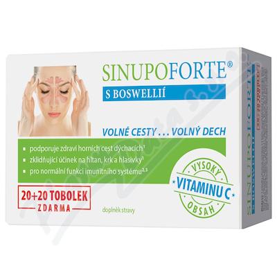 SINUPO Forte s Boswellií 20+20 tob.