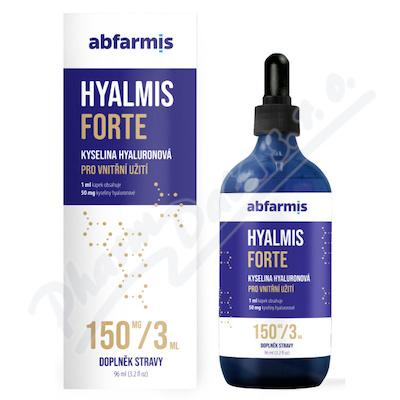 Abfarmis Hyalmis forte kyselina hyaluronová 96ml