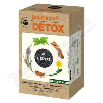 LEROS NATUR Detox čist.čaj s Vilcacorou n.s.20x1.5