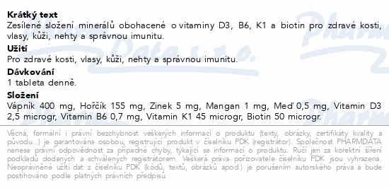 GS Vápník Hořčík Zinek Premium tbl.100+30
