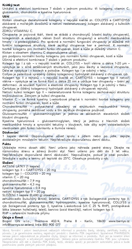 Barnys Klokan cps.60+60 ZDARMA